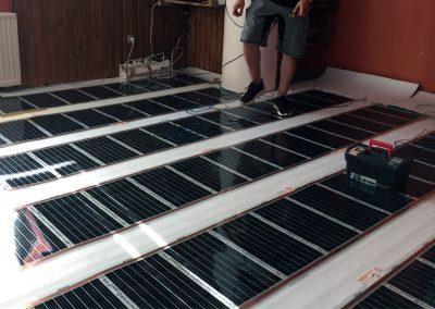 Electric floor heating Pecs