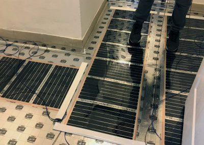 Office heating installation Pecs