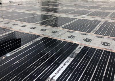 Office floor heating Pecs