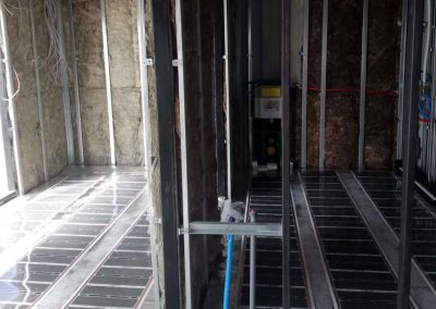Budafok floor heating