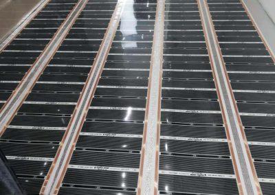 Budapest floor heating installation