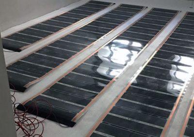 Electric floor heating Mohacs