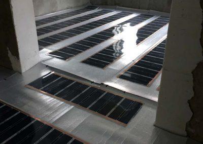 Infra floor heating Sásd