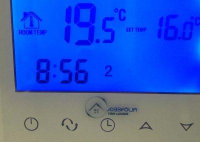 Szigetvár jobbfolia thermostat