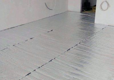 Orfű floor heating layers