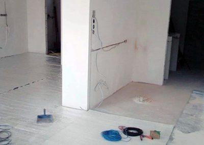 Orfű floor heating installation