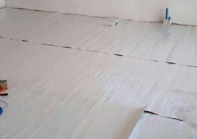 Orfű floor heating insulation