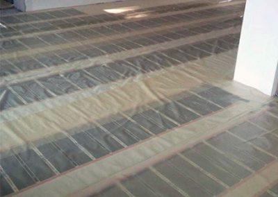 Orfű floor heating installed