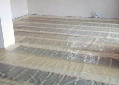 Orfű electric floor heating
