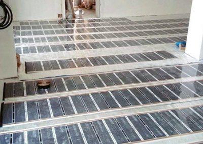 Floor heating Orfű