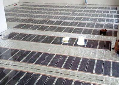 Heating installation Orfű