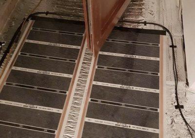 Balatonlelle floor heating installation