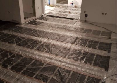 Balatonlelle floor heating layers