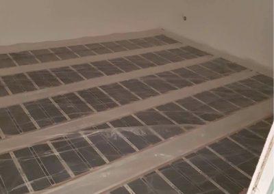 Balatonlelle floor heating installed