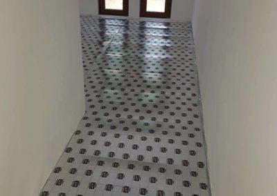 Floor heating layers Balatonlelle