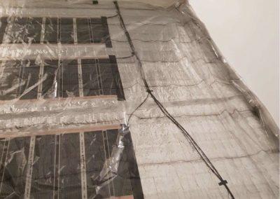 Jobbfolia floor heating installation Balatonlelle