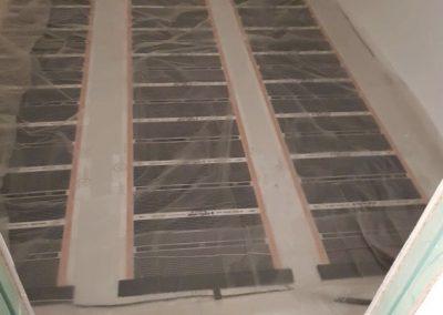 Heating foil layers Balatonlelle