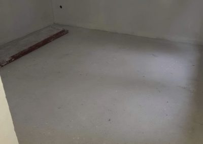 Balatonvilágos infra floor heating installation