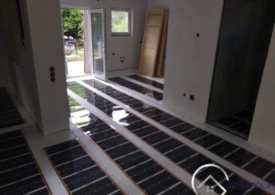 Balatonvilágos infra floor heating