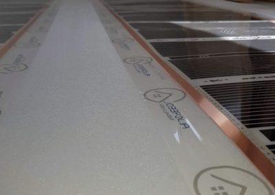 Floor heating installation Balatonvilágos