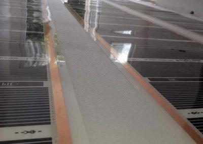 Electric heating foil Balatonvilágos