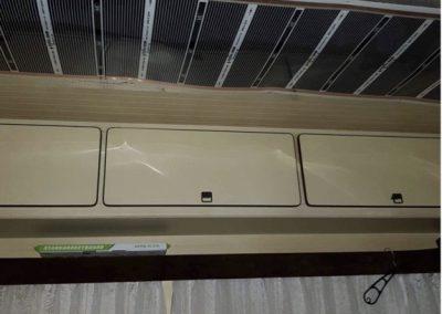 Caravan infra heating