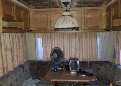 Caravan heating