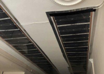Hostel infra heating foil