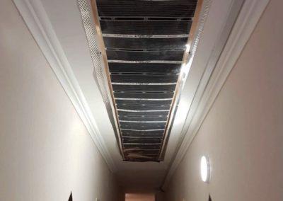 Hostel infra ceiling heating