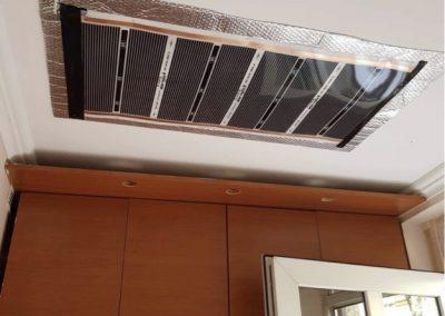 Hostel ceiling heating