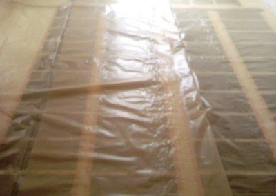 Csömör floor heating layers