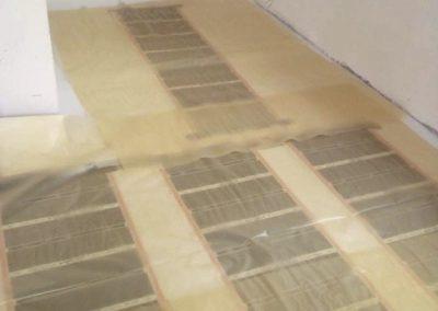 Csömör floor heating