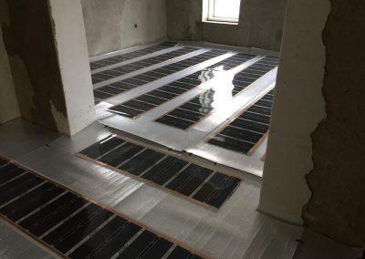 Dunaújváros floor heating layers