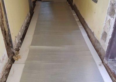 Kőtelek jobbfolia floor heating