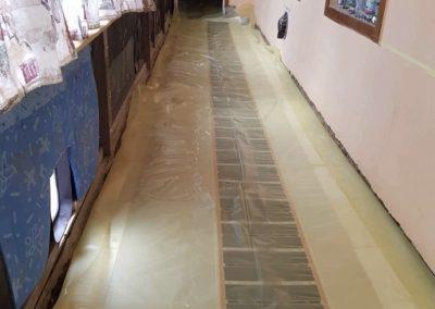 Kőtelek floor heating