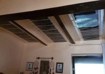 Kőtelek jobbfolia ceiling heating