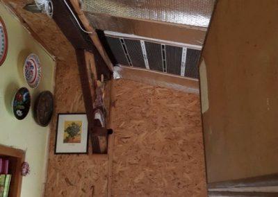 Kőtelek ceiling heating