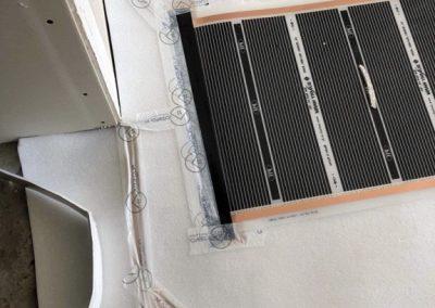 Sajószöged floor heating foil