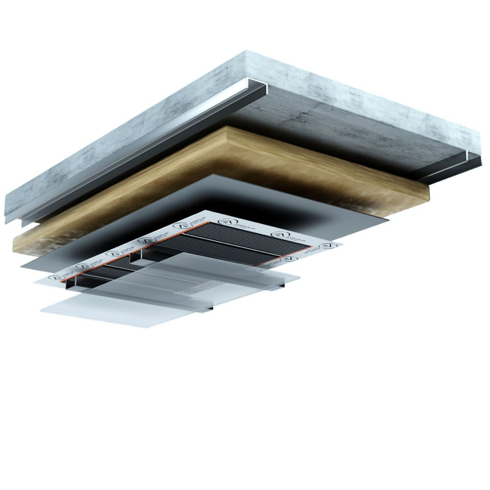 Ceiling Heating Layers